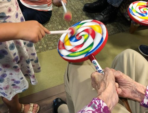 Intergenerational Music Group for Early Childhood at Allegra Nursing & Rehab