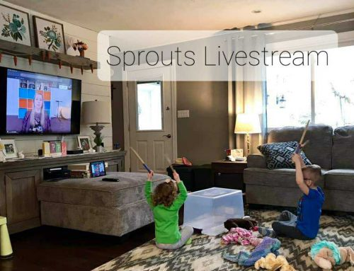 Sprouts Livestream – We've Gone Digital!