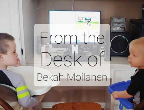 It's the End of the Year… From the Desk of… Bekah Moilanen