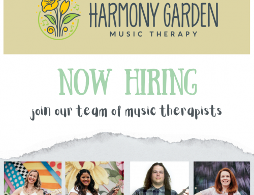 Now Hiring: Music Therapist PT to work to FT